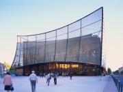 Nhà hát lớn Albi phủ màng lưới lọc khổng lồ