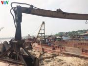 Khai thác cát trái phép tại Hà Nội diễn biến phức tạp