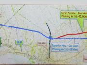 Miền Tây sẽ có thêm tuyến cao tốc hơn 5.500 tỉ đồng