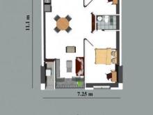 Chủ nhà cần bán lại căn D1 lầu 22 CC Sơn Thịnh 3 giá thấp hơn thị trường do cần tiền gấp
