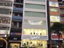 Cho thuê nhà mặt phố Trần Quốc Hoàn 100m 4 tầng mt 8m Giá 90 triệu/tháng Linh mặt phố 0969166861.