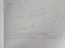 Nhà khuông việt hẻm 6m , trệt 2lau ,3,8x20