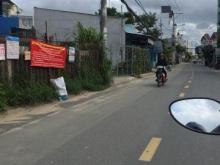 Cần bán gấp đất mặt tiền đường 8m gần sát chợ Hóc Môn,SHR 5 x 16m
