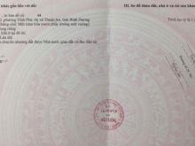 Chính chủ cần bán lô 7x20m=140m2, KDC Vĩnh Phú 2, lô L2-27. LH: 0933599031