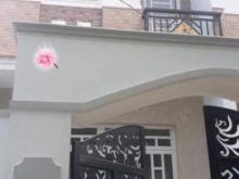 Nhà siêu rẻ sổ hồng riêng , 1 trệt  2 lầu ngay chợ Hưng Long -Bình Chánh.
