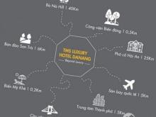 TMS Luxury Hotel Đà Nẵng nằm trên bãi biển Mỹ Khê - 1 trong 6 bãi biển quyến rũ nhất hành tinh