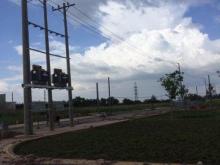 Bán đất nền sổ đỏ xây dựng tự do nằm trung tâm KCN Long Hậu 123 giá chỉ 15tr/m2