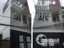 Bán nhà 1 trệt 2 lầu, sổ hồng riêng 6x15m
