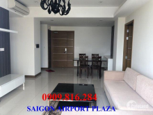 Bán căn hộ Saigon Airport Plaza 125m2-5 tỉ 50 triệu, tầng 12, đủ nội thất, sổ hồng. LH 0909.816.284