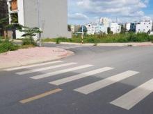 Bán gấp lô đất mặt tiền đường Trục, phường 13, Bình Thạnh, đối diện đại học Văn Lang, sổ riêng