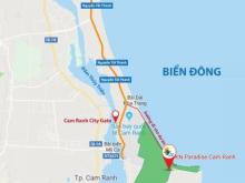 Đất nền 19tr/m2 kế sân bay Cam Ranh, ven biển sở hữu sổ hồng lâu dài