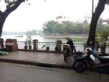 Bán nhà mặt phố Mai Anh Tuấn, view hồ, 2 vỉa hè, 42m, 5 tầng, 8 tỉ.