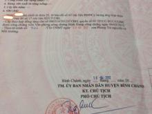 Nhà bác mình có mảnh đất ở Hoàng Phan Thái, X. BC, Bình Chánh, TP HCM cần bán
