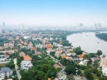 Bán biệt thự bờ sông Thảo Điền, 560m2, 2 tầng, 4PN, 6WC, view sông