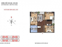 [EBU.VN]Chính chủ gửi bán căn hộ 3 ngủ tại chung cư NO1-T1 Ngoại Giao Đoàn