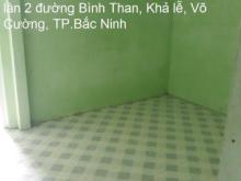 Cho thuê nhà khu vực gần ngã 6, trung tâm TP.Bắc Ninh