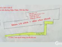Cho Thuê Nhà Mặt Tiền Đường Mậu Thân, Ninh Kiều, Cần Thơ, Dt 350m2 Giá 60Tr/tháng