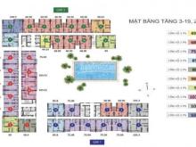 Bán căn hộ Golden Mansion, căn góc tháp GM1 view đường Phổ Quang, quận 1 cực rẻ 4,2 tỷ