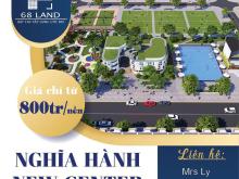 Chính thức nhận giữ chỗ - Dự án Nghĩa Hành New Center, đầu tư giai đoạn 2, LH - 0353040023
