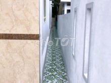 Cần bán nhà trệt kiên cố 73 mét vuông mới  đẹp mặt tiền rạch Ông Dựa