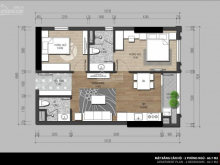Bán gấp căn hộ Iris garden 60m2, 2 ngủ, giá: 1,45 tỷ, lh: 0919.128.298