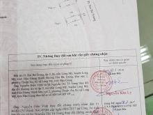BÁN NHÀ ĐẸP TẠI THỊ TRẤN LONG MỸ, HUYỆN LONG MỸ, TỈNH HẬU GIANG - 40,32M2- 1 TỶ 950 TRIỆU