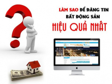 Phần mềm đăng tin BĐS trên 230Site cho thuê, mua bán Bất động sản tốt nhất VN