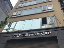 Bán tòa nhà lô góc mặt phố Tam Khương, Đống Đa, 60m x 8 tầng thang máy, kinh doanh sầm uất