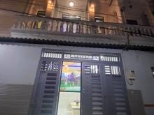 nhà 1 trệt 2 lầu Dt60m2 nhà mới HXH tặng nội thất