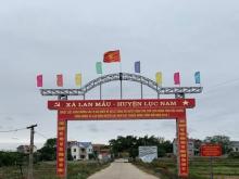 Chính chủ cần bán lô đất đã có sổ tại xã Lan Mẫu, Lục Nam Bắc Giang cách 3 KCN 300m mặt tiền rộng