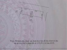 Bán ĐẤT ngõ ôtô – lô góc Cổ Nhuế, Bắc Từ Liêm, 46m2, MT3.8m, 2.85 tỷ.